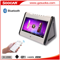 10.1 inch Android WiFi network Touch screen HDD KTV Karaoke Player