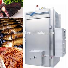 Acero inoxidable carne automática horno ahumador máquina