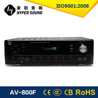 2015 hot selling 5.1ch dual channel amplifier for DVD/CD