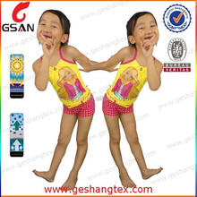 Lovely two piece kids bathing suit