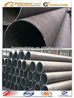 L245B Low alloy black hot rolled welded steel pipe