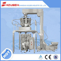 Automatic Pouch Snack Potato Chips Packing Machine with Multi Heads Weighing