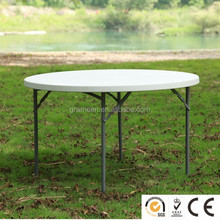 4ft plastic out door folding round table for sale folding garden table picnic table