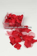 petalos de rosa artificiales de seda 27430