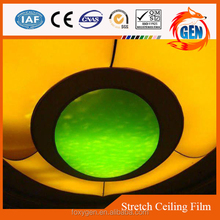 high quality of sound proofing soft pvc ceiling film in china plastic factories