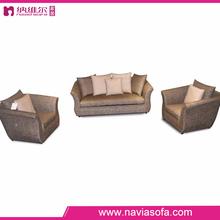 European Style modern living room furniture home designer top fabric sectional sofa