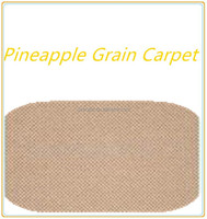 Contemporary low price nonwoven pineapple grain carpet