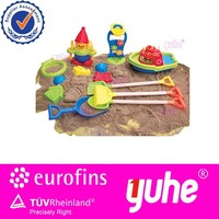 Sand paly plastic kids beach toys