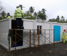 low cost portable container / 20 ft container homes