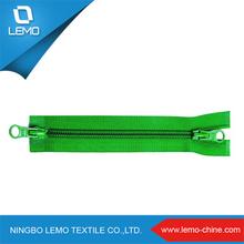 Zipper factory/colorful Nylon+PVC waterproof zipper long chain or finished zippe