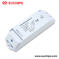 factory price 100-240VAC 500mA 1 channel 15W triac dimmable 500ma constant current led driver