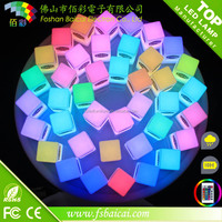 RGB Color Light Cube, color changing Illuminated cube