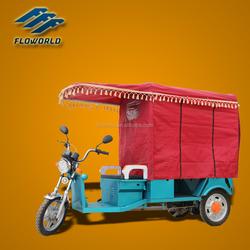 FLO-8 Indian 850W/24 tube controller auto rickshaw/electric rickshaw/e rickshaw/batteryrickshaw price for passengers
