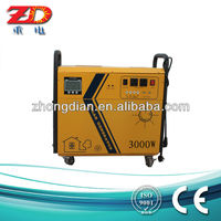 portable solar power system, solar panels with built in inverters, solar ac