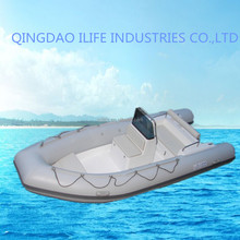 IL-B470C Rigid inflatable boat used fishing boats with engine