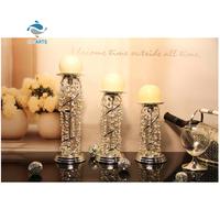 Professional table decoration crystal tea light candle holder