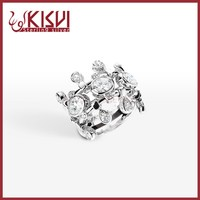 semi precious stone with silver ring wholesale Genuine 925 Sterling Silver Ring , Lateset Design Wholesale Silver Jewelry