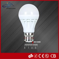 100pcs\/lot B22 Led Bulbs 220v 9w White Lampadas Led Energy Saving Light Bulbs B22 Led Bulb Lamp For Home Lighting Smd 2835