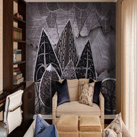 Nice Design PVC chinese character wallpaper