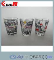 advertisement shot glass30ml / 30ml spirit glass/ liquor glass