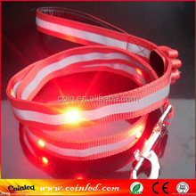 Good Quality Glow And Flashing Light Up In Dark Safety And Cool Camouflage Printing Led Dog Collar Dc-2516