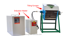best price and have stock of Mid Frequency induction melting furnace For Melting Nodular cast iron 50kg
