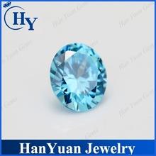 glowing round shape brilliant cut aquamarine stone of prices