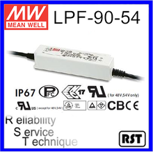 LPF-90-54 Single Output Switching Taiwan Mean Well 90W 54V LED Power Supply