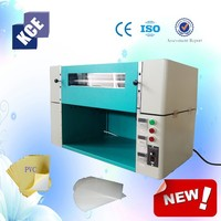 2015 KC brand new 20 inch Photo PVC double Side hot gluing machine
