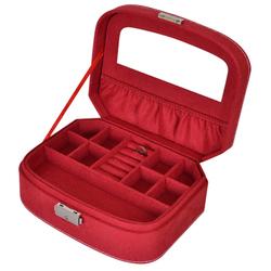 cheap bulk gifts custom made velvet jewelry box for women