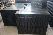 Cross flow cooling tower air inlet louvers & Cooling tower drift eliminator type