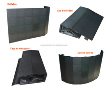 Hanging Flexible LED Curtain Module Display/ Many PCS Modules can be combine a big screen