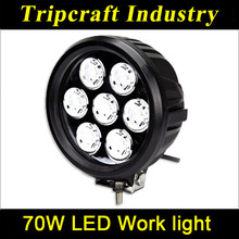 70W Agricultural Industrial LED Work Light,5950lm LED Work Lamp,heavy duty driving light