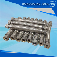 Tube 3 water treatment flexible accordion pipe stainless steel metal hose