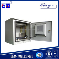 Air conditioner electric cabinet/SK-185 outdoor air conditioning telecom enclosure with lock and cable management