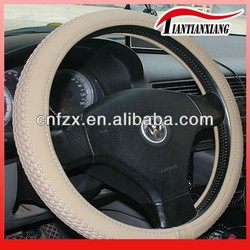 classic sheep skin leather new car steering wheel cover(10 years experience)