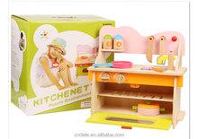 high quality kids kitchen set toy wooden toy kitchen