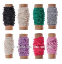 2013 de moda de color multi 10 yardas mini cuerda de cáñamo para el bricolaje& manualidades para el hogar jardinería