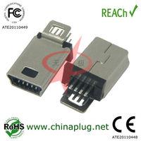 High Discount 10 pin mini usb 5pin connector
