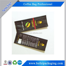 Customized Back Seal Side Gusset Coffee Bean Bags