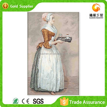 Wholesale price hot selling room wall decor lady oil paintings