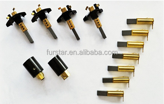 Made in china dc motor carbon brush manufacture power for Carbon motor brushes suppliers