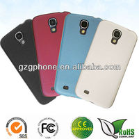 Newest rubbered PC case for Samsung galaxy S4,i9500 back case