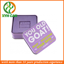 Factory directly and cute apperence rectangular metal soap tin box