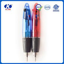 4 colors plastic affair promotional hanging ball pen