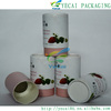 New design slim packaging paper box templates paper lipstick tube with CE certificate