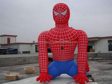 2015 hotsale cool inflatable spiderman