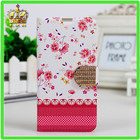 capa case pu leather cover para HUAWEI G730