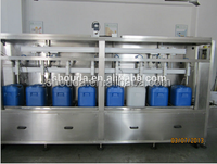 Automatic olive oil bottling and filling machine