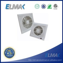 SAA Approval ABS Material 4 inches Wall Mounted Exhaust Fan